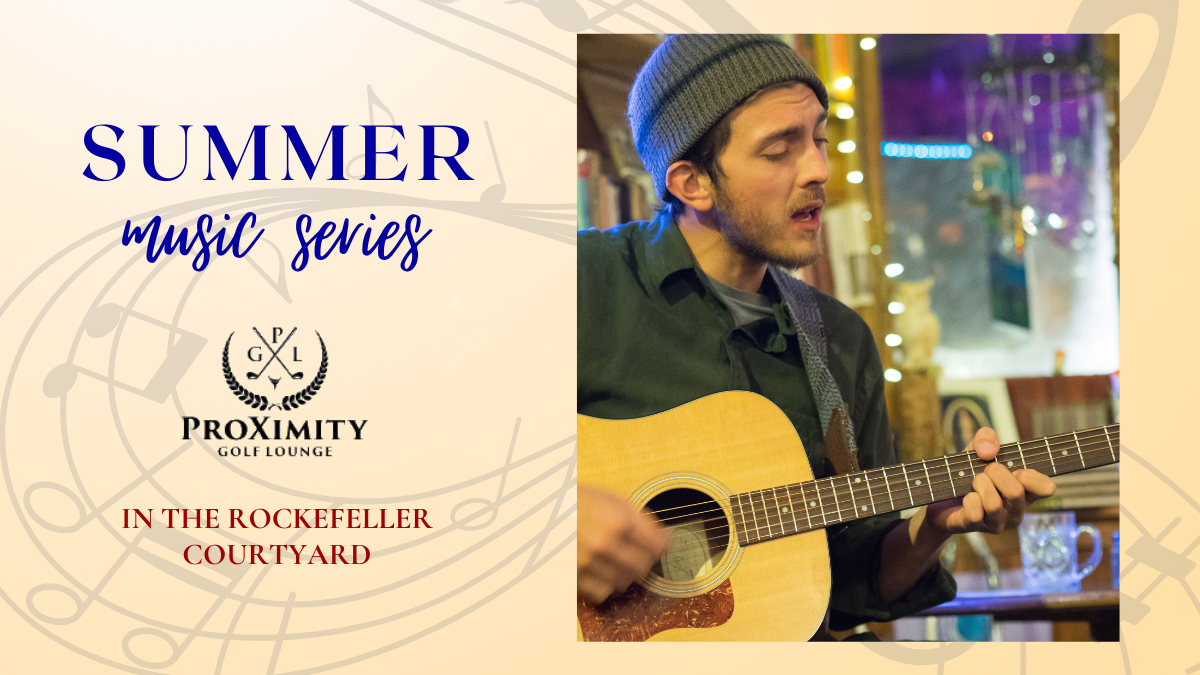 Summer Music Series featuring Andrew Bonnis