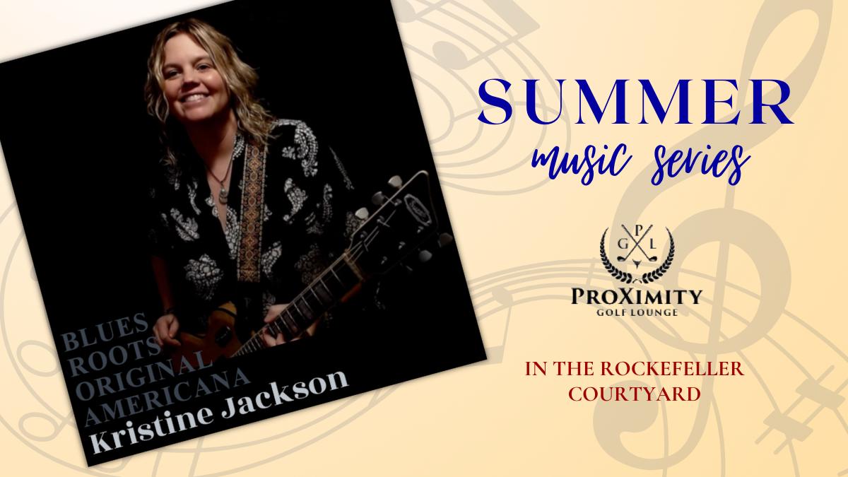 Live Music – this Saturday with Kristine Jackson