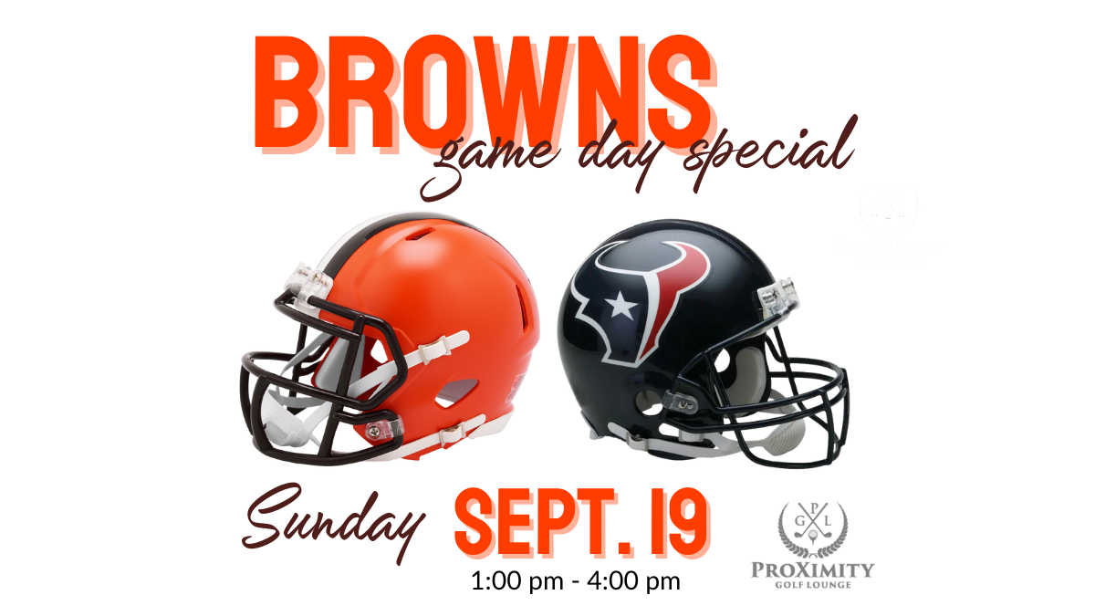 Browns vs. the Texans